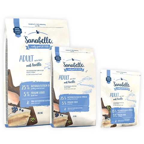 Bosch Sanabelle Adult Trout / Бош Санабель Эдалт с форелью