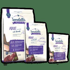 Bosch Sanabelle Adult Ostrich / Бош Санабель Эдалт с мясом страуса